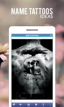 Name Tattoos Ideas apk screenshot