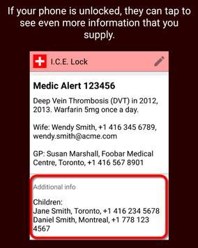 I.C.E. Lock apk screenshot