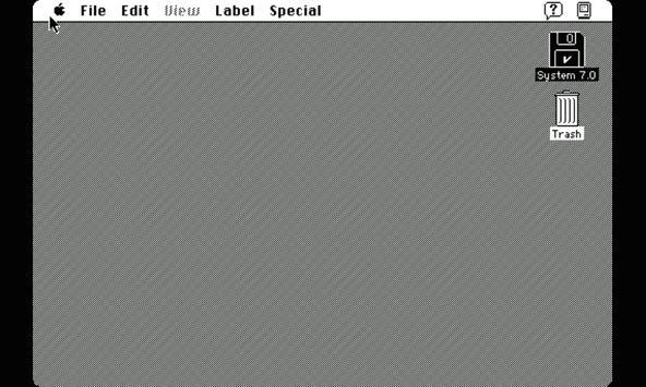 Mini vMac screenshot 2