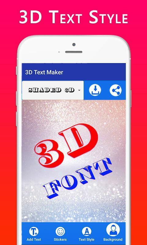 ... 3D Text Maker screenshot 2 ...