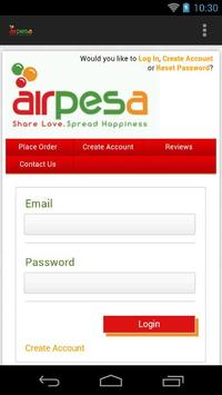 Airpesa apk screenshot