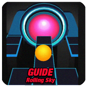 Guide for new Rolling Sky icon