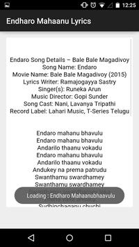 Bhale Bhale Magadivoyi Lyrics screenshot 3