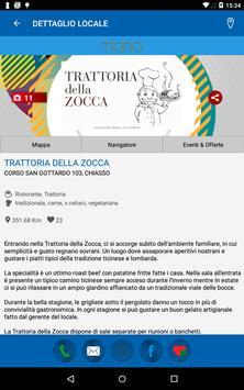 Aperitivi & Cene Ticino apk screenshot
