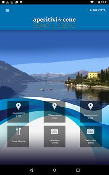 Aperitivi & Cene Como e Lecco screenshot 1