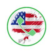 واتس اب برقم امريكي 2018 icon