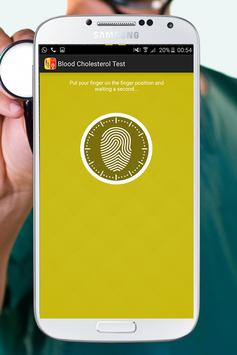 Blood Cholesterol Test Prank screenshot 1