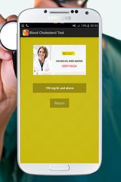 Blood Cholesterol Test Prank screenshot 7