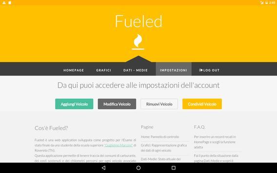 Fueled - Consumo carburante screenshot 6