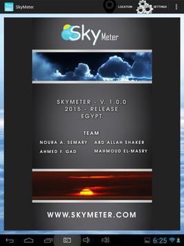 SkyMeter poster
