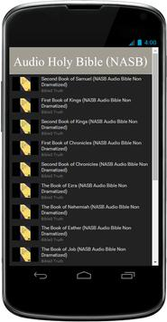 NASB Audio Bible Free App apk screenshot