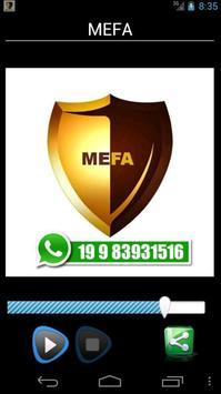 MEFA poster