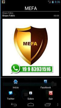 MEFA screenshot 1