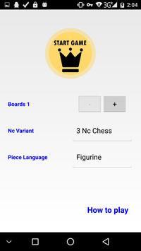 Neoclassical Chess poster
