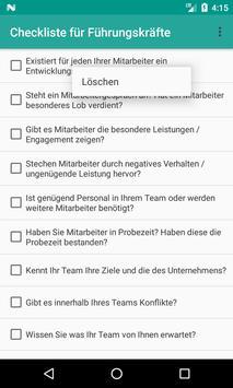 Checkliste für Führungskräfte screenshot 3