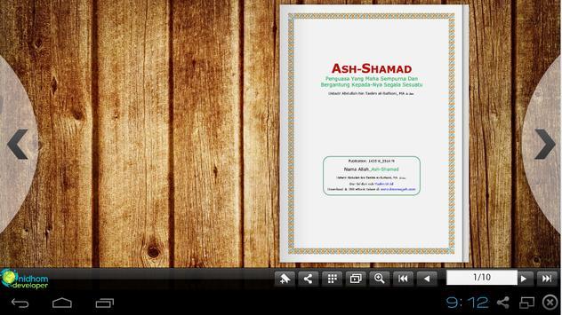 Asmaul Husna (As-Shomad) apk screenshot