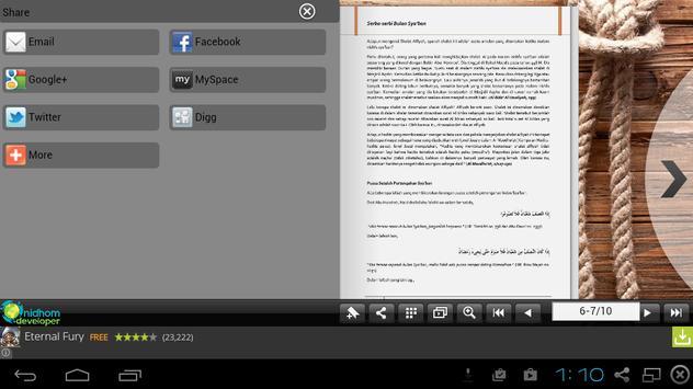 Amalan Bulan Sya'ban apk screenshot