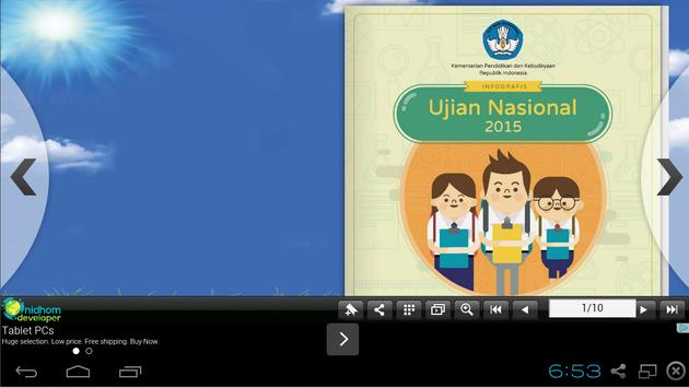 Informasi Penting UAN 2015 poster