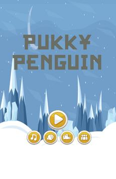 Pukky Penguin poster