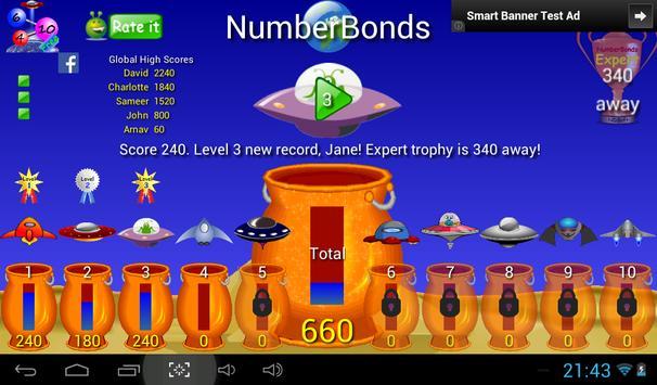 Number bonds  apk screenshot