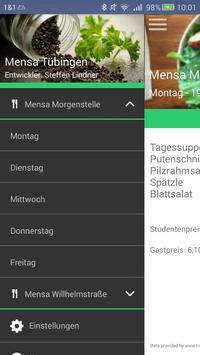 Mensa Tübingen screenshot 1