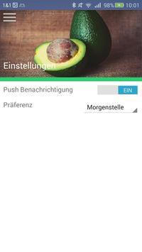 Mensa Tübingen screenshot 2