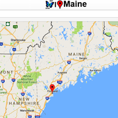 Maine Map icon