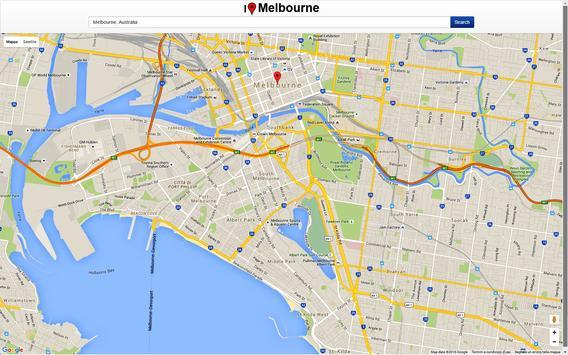Melbourne Map screenshot 3