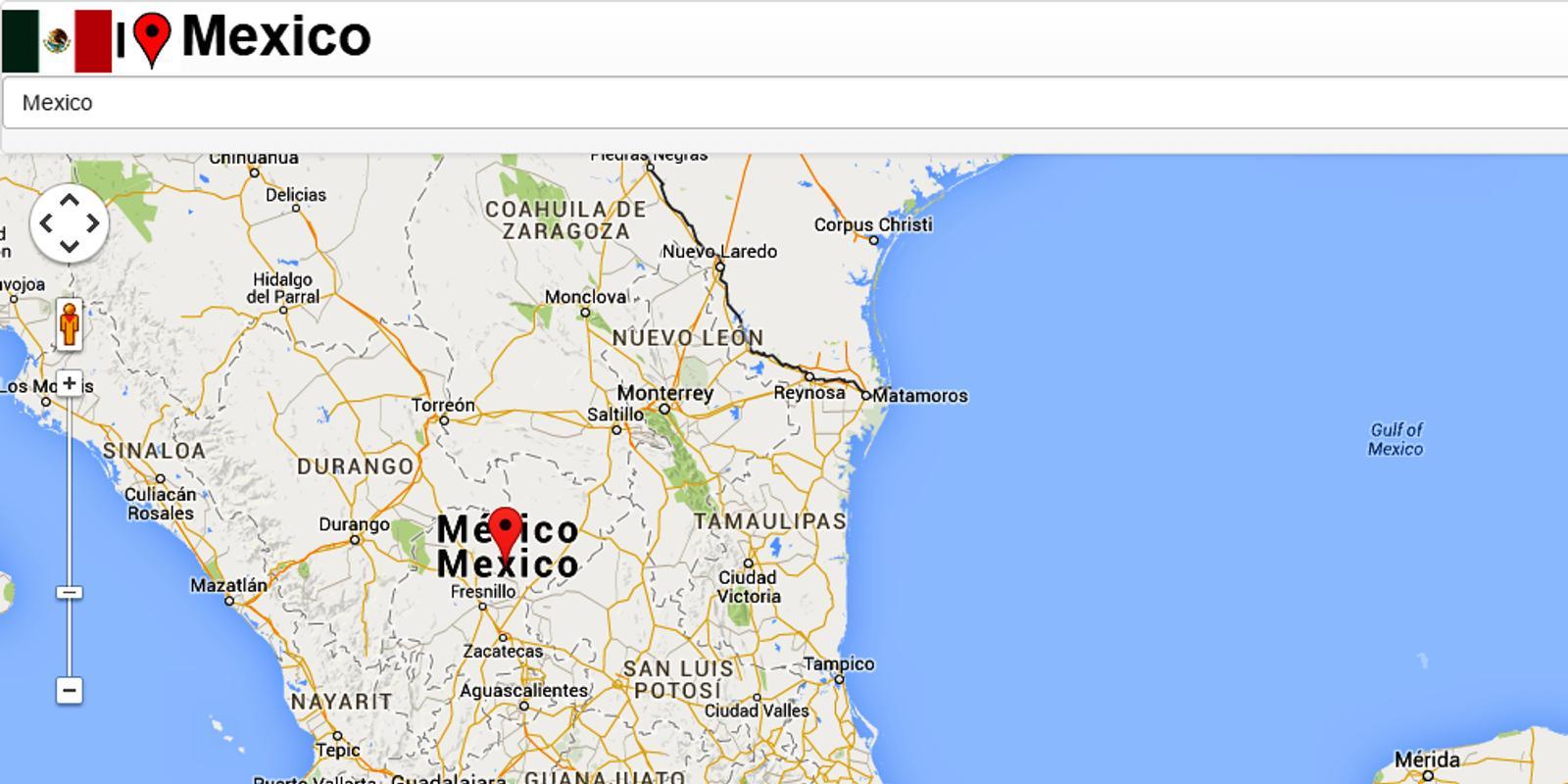 mexico guadalajara map poster