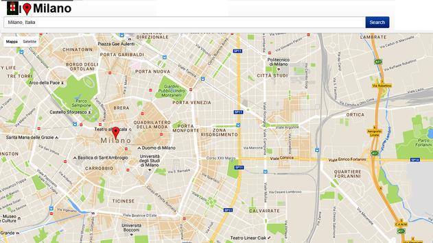 Milano Simply Map apk screenshot