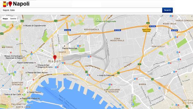 Napoli Simply Map screenshot 2