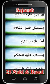 Sejarah 25 Nabi & Rasul apk screenshot