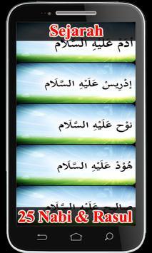 Sejarah 25 Nabi & Rasul poster