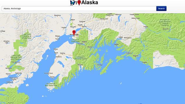 Alaska Map apk screenshot