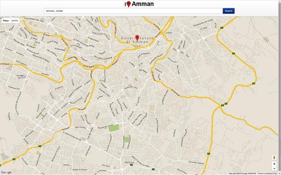 Amman Map screenshot 2