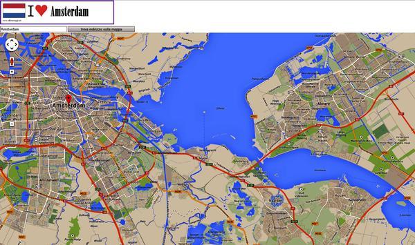 Amsterdam map apk screenshot