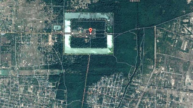 Angkor Wat Map screenshot 4