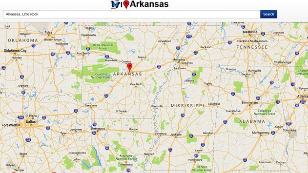 Arkansas Map apk screenshot