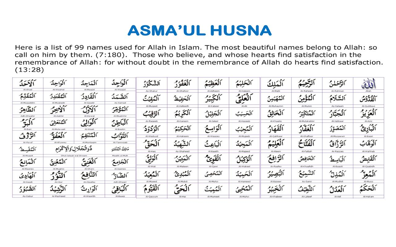 Asmaul Husna Mp3 For Android Apk Download