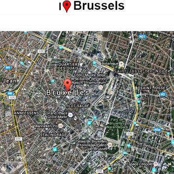 Brussels Map screenshot 1