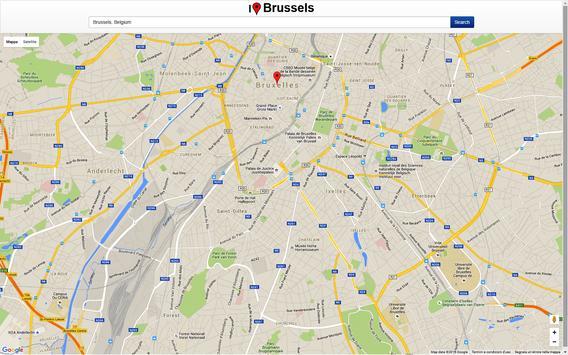 Brussels Map screenshot 2