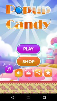 Candy Popup poster