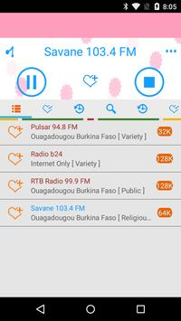 Radio Burkina Faso apk screenshot
