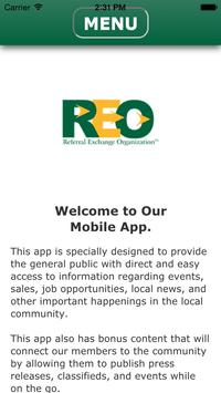 REO: Referral Exchange Org poster