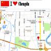 Chengdu map icon