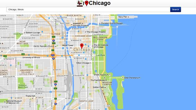 Chicago Map apk screenshot