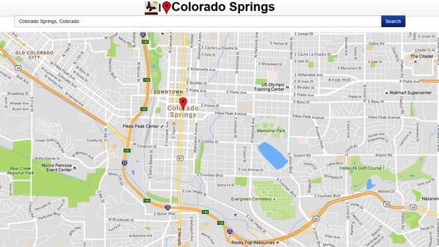 Colorado Spring Map apk screenshot