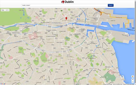 Dublin Map screenshot 2