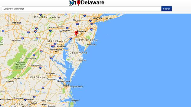 Delaware Map apk screenshot