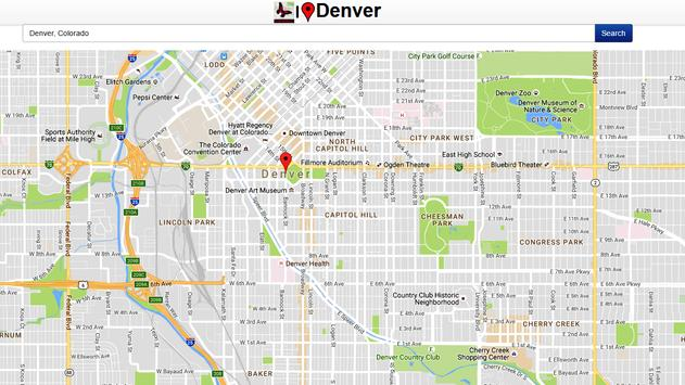 Denver Map apk screenshot
